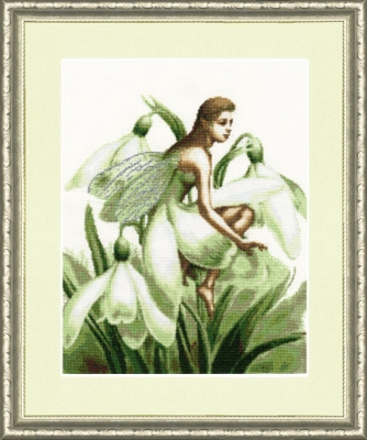 Вышивка золотое руно фея цветов